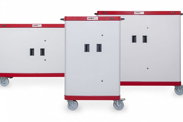 Our flagship Mentor™ trolley range offers the highest level of security as well as safe storage, charging and updating of laptops, Microsoft Surface, Chromebooks and tablets. Upgradable modular construction and option for in-built charging (No AC adaptors).